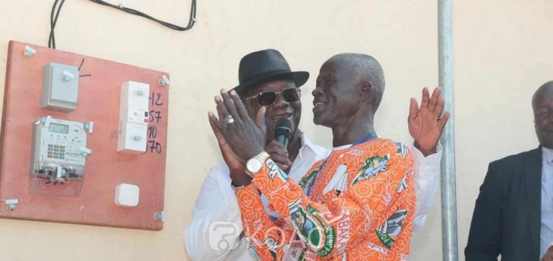 Côte d'Ivoire :   Visite d'Etat dans le Hambol, Ouattara met sous tension, le village de Darakokaha et le quartier Kaléhé-Dofongui