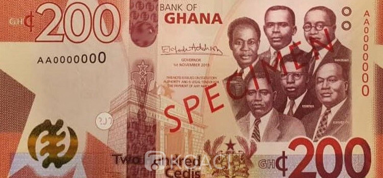 Ghana: La BoG émet de nouveaux billets, 100 et 200 Ghana cedis plus une pièce