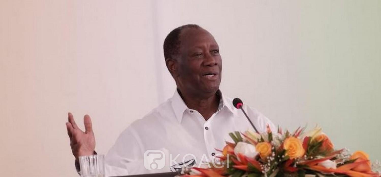 Côte d'Ivoire-France:  Depuis Katiola, Ouattara annonce que la visite de Macron aura lieu avant la fin du mois
