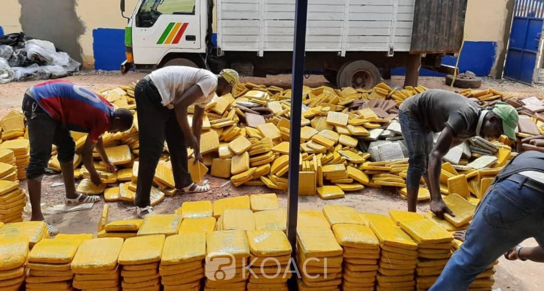 Côte d'Ivoire: Spectaculaire saisie de 3,5 tonnes de drogue à Aboisso