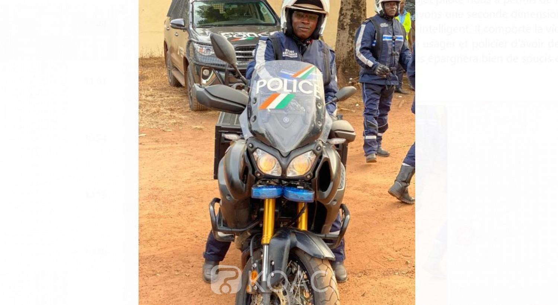 Côte d'Ivoire: Visite d'Etat dans le Hambol, la Police spéciale de sécurité routière fait sa sortie officielle