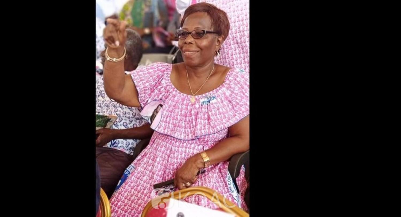 Côte d'Ivoire: FPI, Anne Gnahouret désignée à la tête des femmes du camp Affi, lance un appel aux « GOR » Marie Odette Lorougnon et Odette Sauyet