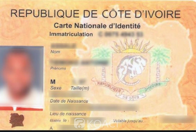 Côte d'Ivoire: CNI, l'identification des populations reprendra le 11 décembre prochain