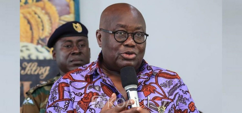 Ghana: Akufo-Addo annule le référendum en vue et ordonne le retrait des projets de loi, la cause