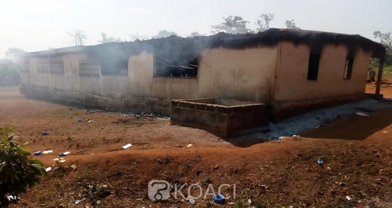 Côte d'Ivoire: À Facobly, une bagarre entre élèves et jeunes vire au drame, une école incendiée, maisons, boutiques et maquis pillés