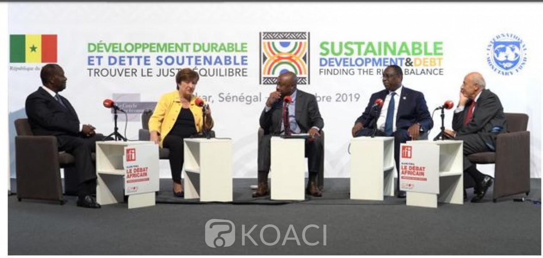Côte d'Ivoire: 3è mandat, surendettement, impact du taux de croissance sur les populations, ECO, Ouattara dit tout depuis Dakar