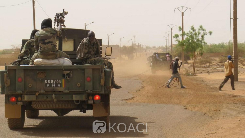 Mali: Deux soldats tués et 7 blessés dans l'explosion d'une mine artisanale près de la frontière Burkinabé