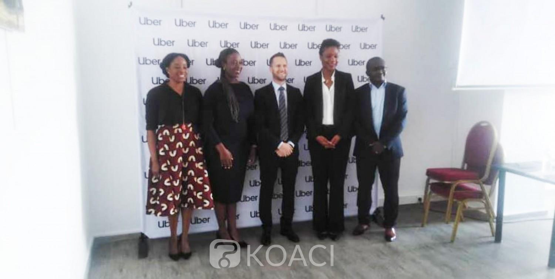 Côte d'Ivoire: UBER pose ses valises à Abidjan, tout chauffeur devra être déclaré transporteur