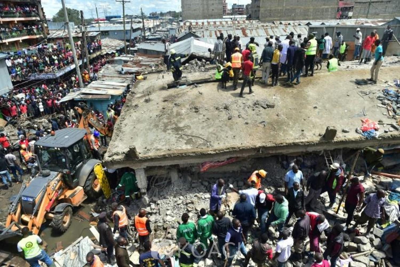 Kenya: Trois personnes meurent dans l'effondrement d'un immeuble de six étages à Nairobi