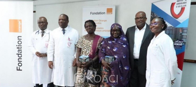 Côte d'Ivoire: Lutte contre les Maladies Cardiovasculaires et l'Hypertension Artérielle, la Fondation Orange CI accompagne l'opération «100.000 dépistés»
