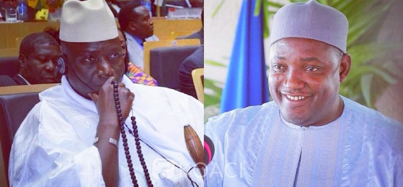 Gambie: Barrow favorable au retour de Jammeh mais à une condition