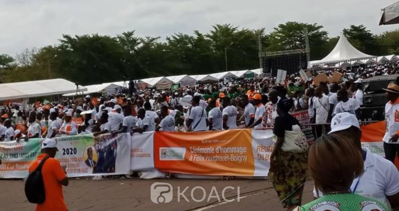 Côte d'Ivoire: Yamoussoukro, le RHDP réussit le pari de la mobilisation à la place Jean-Paul II