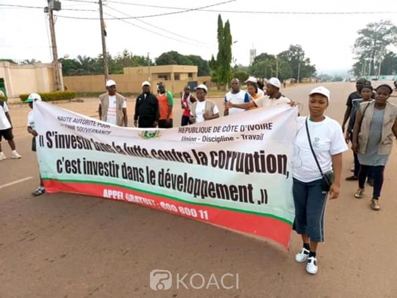 Côte d'Ivoire: Pour éradiquer la corruption du pays, une marche organisée à Daoukro