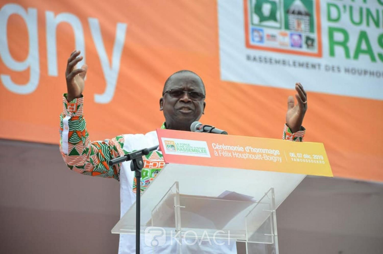 Côte d'Ivoire: Ahoussou: «Ouattara est l'homme dont Félix Houphouët-Boigny rêvait pour poursuivre son œuvre en équipe »