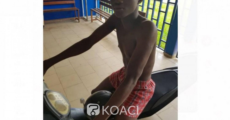 Côte d'Ivoire: Alors qu'il tentait de voler une moto avec son ami, un individu interpellé à Abobo