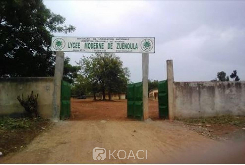 Côte d'Ivoire: Zuénoula, la fin du trimestre proche, des élèves affectés ont été  réaffectés dans d'autres établissements