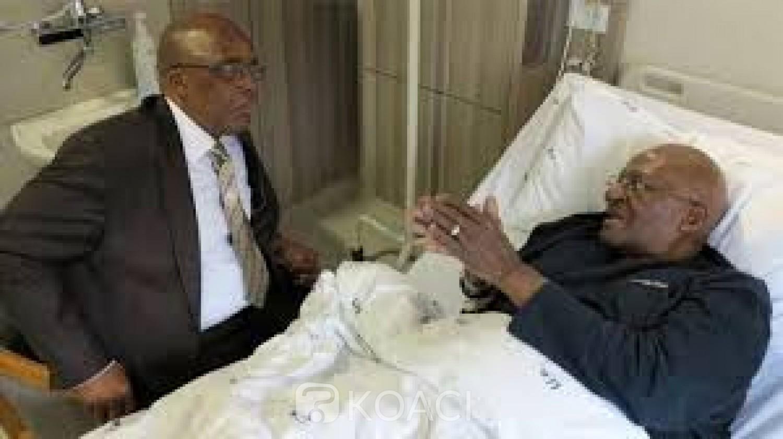 Afrique du Sud: Après six jours d'hospitalisation, Desmond Tutu regagne son domicile