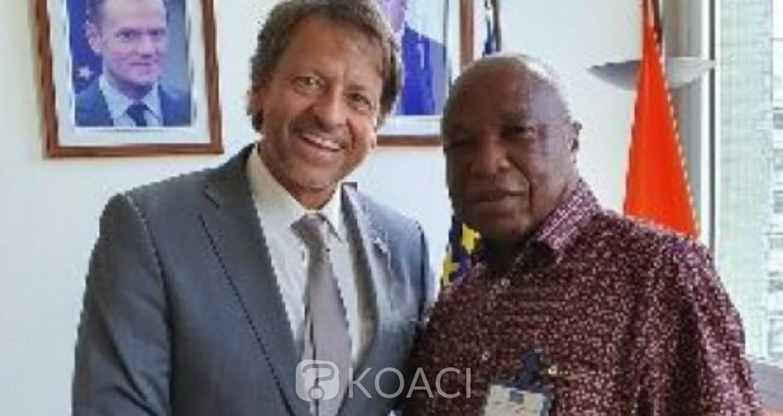 Côte d'Ivoire: Avant son départ pour Bruxelles, ce qu'Assoa Adou avait  confié à l'Ambassadeur de l'UE