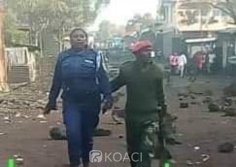 RDC: Une policière arrêtée pour avoir tiré sur un jeune manifestant à Goma