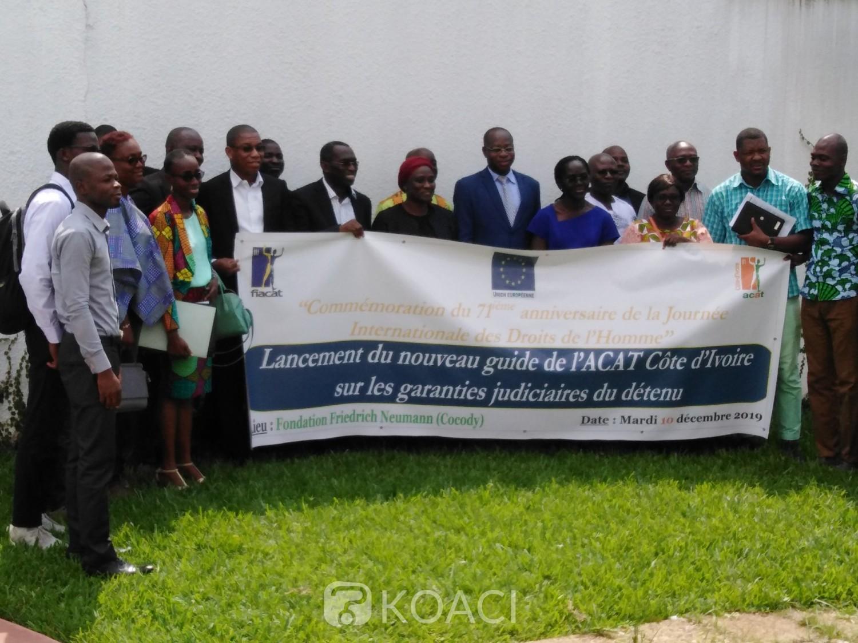 Côte d'Ivoire: Présentation d'un nouveau guide du détenu sur ses garanties judiciaires