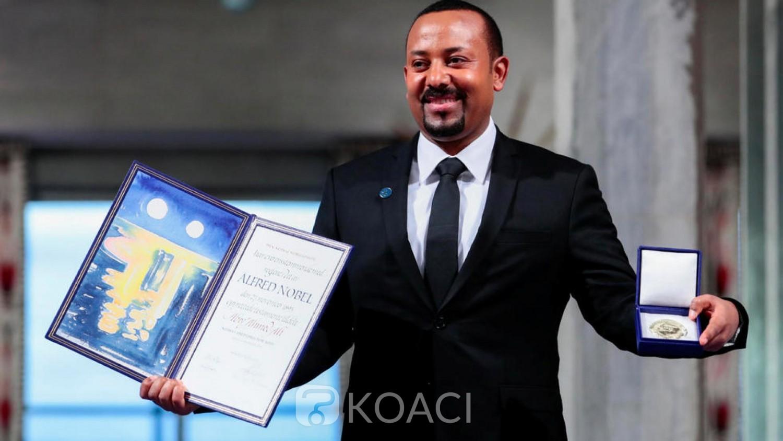 Ethiopie:  Abiy Ahmed reçoit  son Nobel de la paix et plaide pour l'union