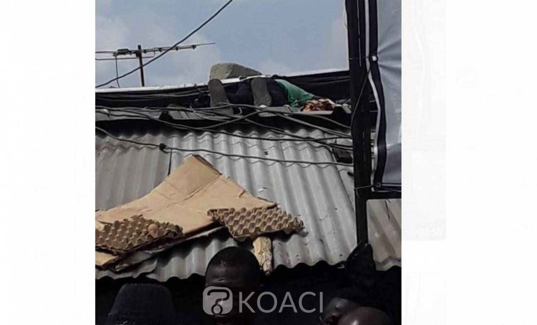 Côte d'Ivoire: Drame à Marcory Anoumabo, le corps d'un homme découvert sans vie sur le toit