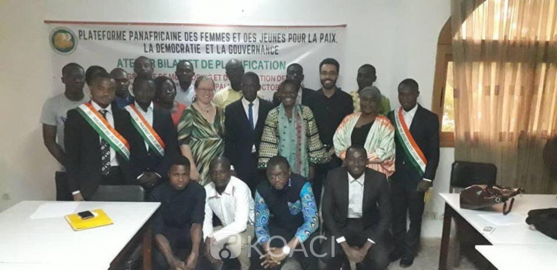 Côte d'Ivoire: Mise en oeuvre d'une activité de la Plateforme Panafricaine des Femmes et des Jeunes pour la Démocratie, la Gouvernance et la Paix