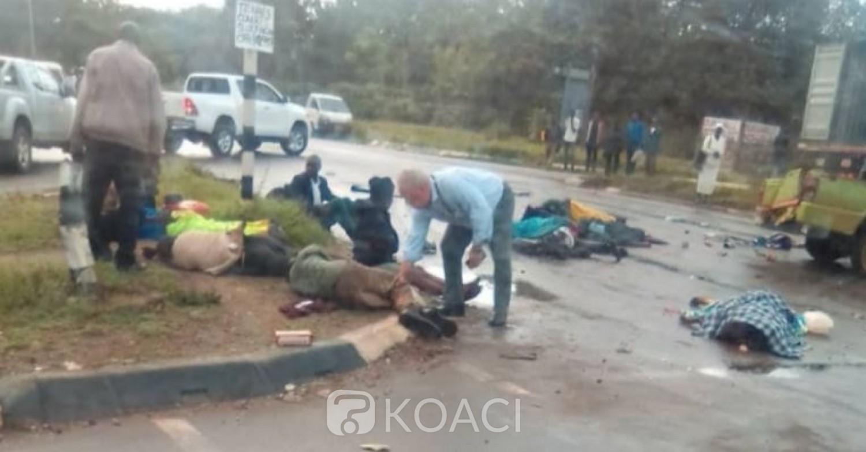 Zimbabwe: Un grave accident de la circulation fait 05 morts et 11 blessés à Harare