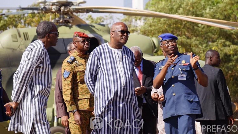 Burkina Faso: Quatre aéronefs pour la lutte antiterroriste