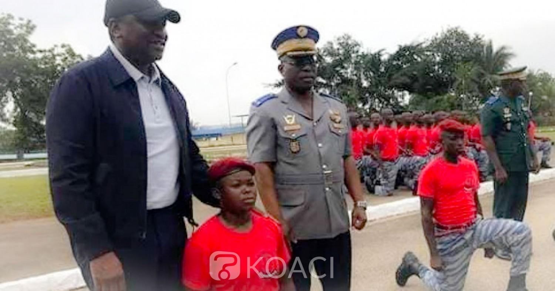 Côte d'Ivoire: Voici la première femme gendarme commando du pays
