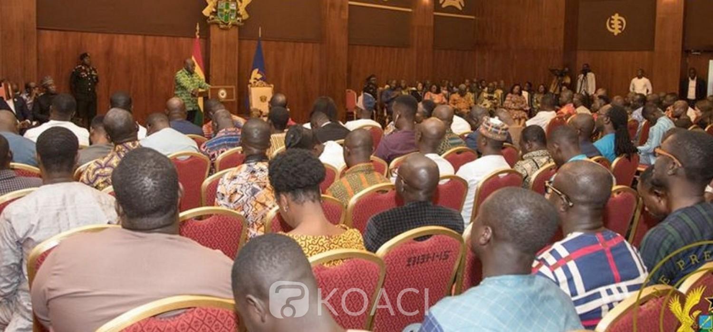 Ghana: Akufo-Addo face aux journalistes, questions brulantes et réponses
