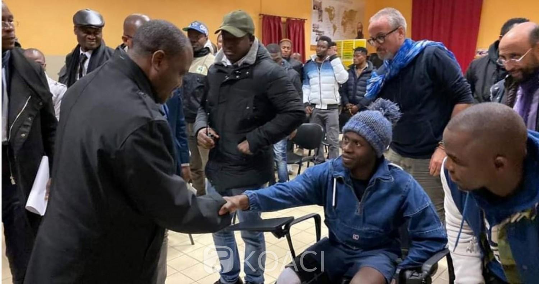 Côte d'Ivoire: Soro en Italie auprès des demandeurs d'asile «il faut l'avouer est l'échec d'abord de nous les dirigeants et de nos politiques économiques et sociales »