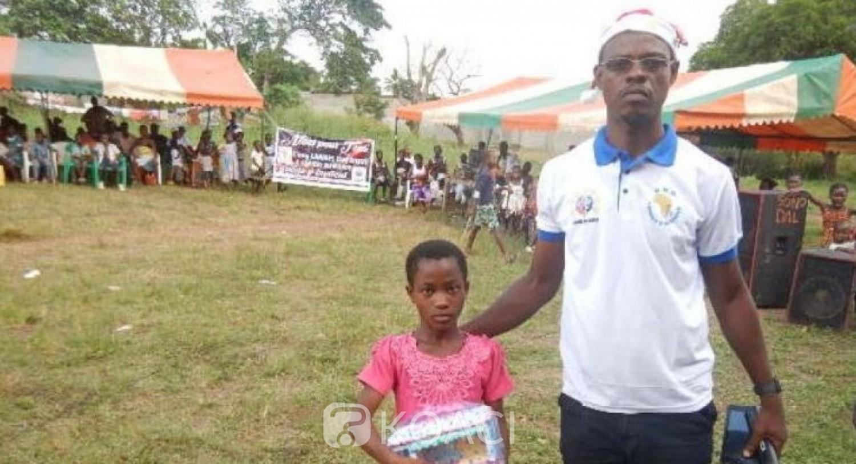 Côte d'Ivoire: Arbre de Noël, « Larmes d'Afrique » réalise le rêve des enfants Baoulé, Dida, Mossi et Lobi de Gragbadagolilié (Lakota)