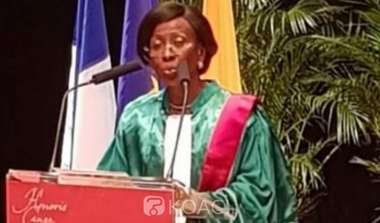Côte d'Ivoire: Après Abdou Diouf, la ministre  Bakayoko-Ly Ramata distinguée au grade de docteur Honoris Causa