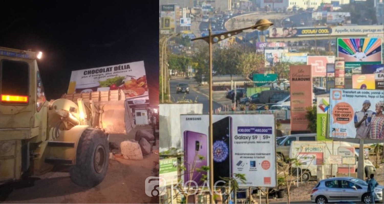 Sénégal: Dakar nettoyée de ses nombreux et encombrants panneaux publicitaires