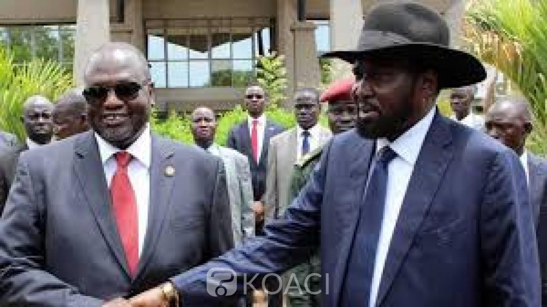 Soudan du Sud: Salva Kiir et Riek Machar se mettent d'accord pour un gouvernement« avant fin février 2020»