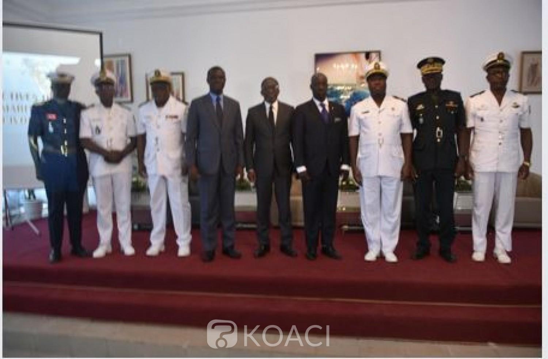 Côte d'Ivoire: Le contre-amiral Nguessan Célestin explique le bien fondé de faire insérer la politique maritime dans le plan de gouvernance