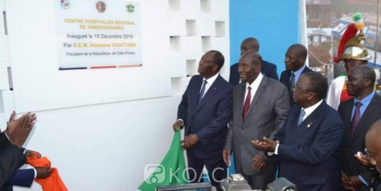 Côte d'Ivoire: Yamoussoukro, inauguration du CHR rénové, Ouattara annonce que le Gouvernement continuera d'investir dans la Santé