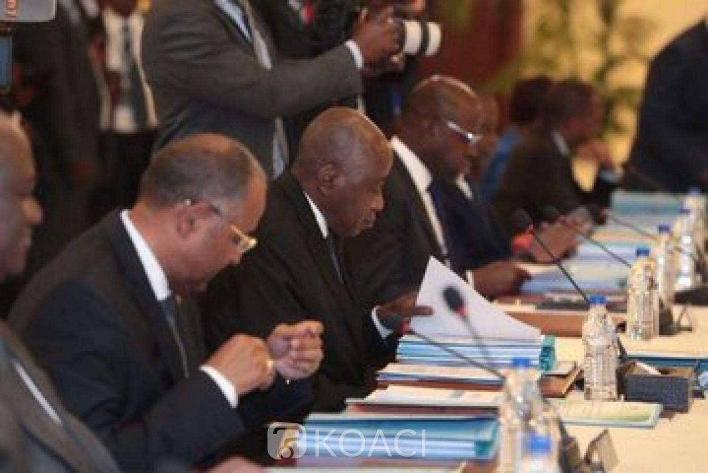 Côte d'Ivoire:  Dernier conseil des ministres de l'année, plusieurs nominations et les généraux, Doumbia Lassina, Touré Alexandre Apalo, Kouamé N'Dri Julien Sébastien, promus