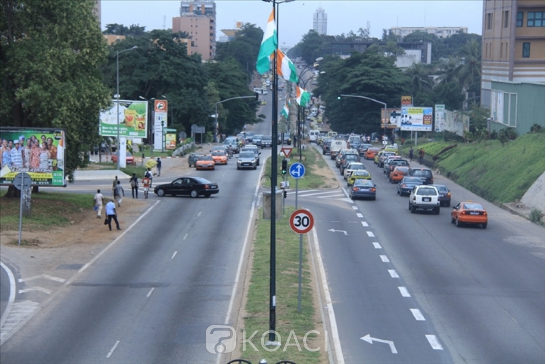 Côte d'Ivoire: Cocody, prolongement  en vue du  boulevard Latrille jusqu'au CHU d'Angré
