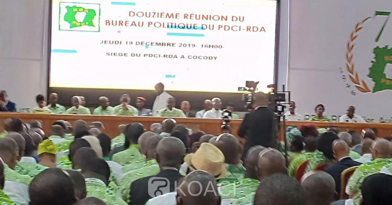 Côte d'Ivoire:  Bureau politique du PDCI, Bédié s'attaque à la gestion du RHDP et galvanise ses militants pour la reconquête du pouvoir en 2020