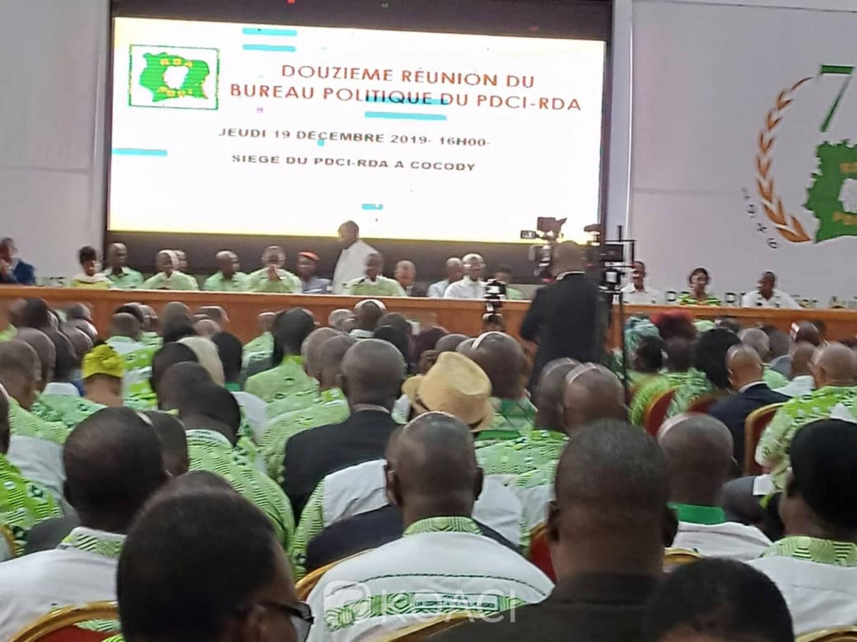 Côte d'Ivoire:  Choix du candidat à l'élection présidentielle de 2020, la convention nationale du PDCI-RDA prévue du 12 au 14 juin 2020 à Abidjan