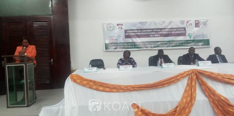 Côte d'Ivoire: L'INFAS lance la Licence en télémédecine et le Master en gestion des risques lancés pour 25 places