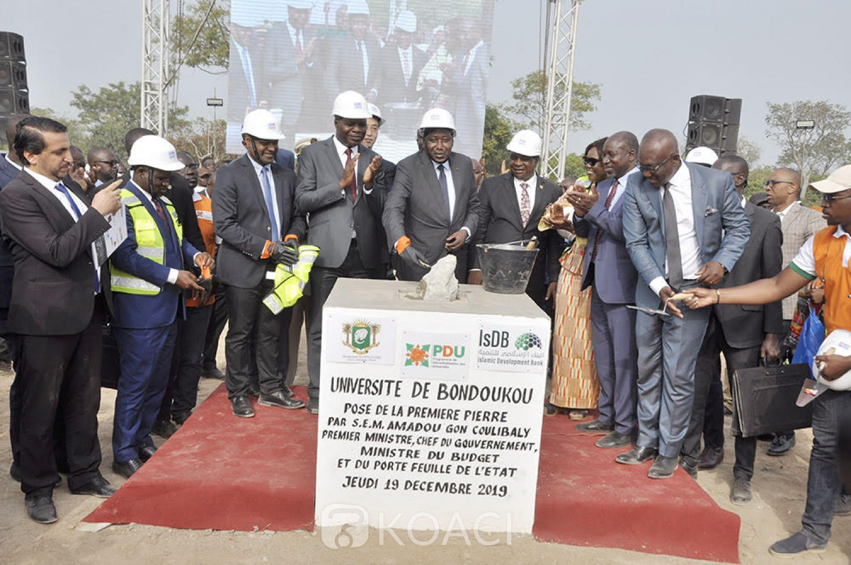Côte d'Ivoire: Bondoukou, pose de la première pierre de l'Université, les populations reconnaissantes des actions du gouvernement