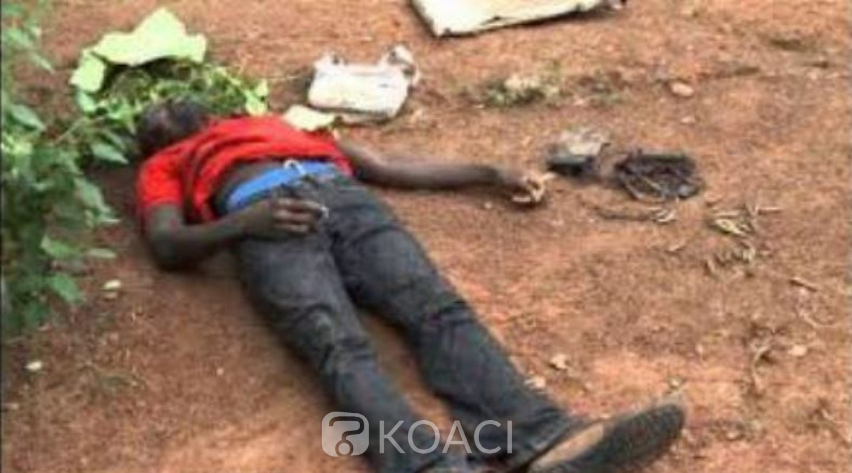 Côte d'Ivoire: Drame à Man, alors qu'il se rendait à une réunion du COGES, un instituteur tué par des coupeurs de route