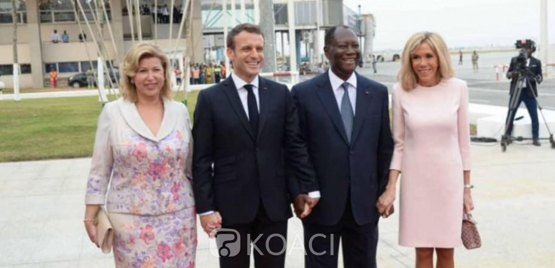 Côte d'Ivoire :  Alassane Ouattara accueille son homologue français Macron et se rend à Abuja pour le 56ème sommet de la CEDEAO