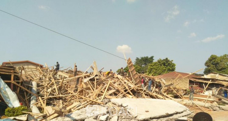 Cameroun: De nombreux morts dans l'effondrement d'un immeuble à Yaoundé