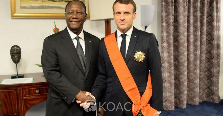 Côte d'Ivoire:  Deuxième jour de la visite officielle de Macron, quatre accords bilatéraux signés entre Paris et Abidjan après un tête à tête entre les deux présidents
