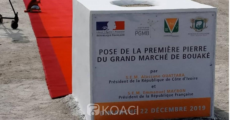 Côte d'Ivoire: Bouaké, les premiers blocs du plus grand marché couvert d'Afrique de l'Ouest livrés en juillet 2021