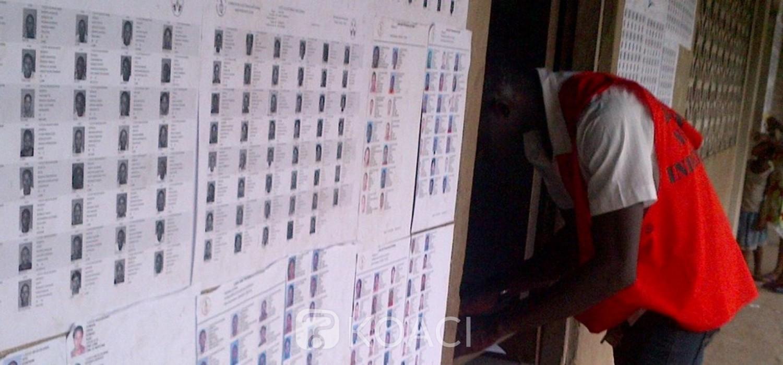 Togo: Fichier électoral, total des électeurs, 348 inscrits dans la diaspora